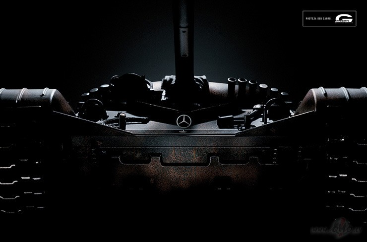 Mercedes tanks